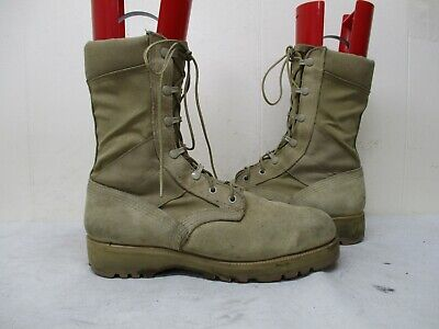 ed94e5a3a18 VIBRAM MILITARY DESERT Tan Combat Boots Style 267 96 Mens Size 8.5 R
