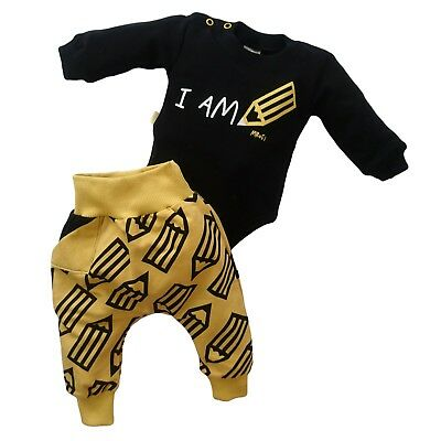 BNWT Baby Boys Babygrow Trousers Outfit /Set HIGH QUALITY COTTON 0-3/3-6/12-18m