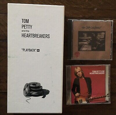 Tom Petty & The Heartbreakers Playback Box Set Damn The Torpedos Wildflowers CD