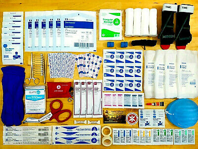 Tourniquet First Aid Trauma Kit - Emergency Medical First Responder EMT EMS IFAK