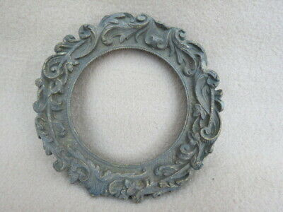 Antique French Cast Brass Dial Surround Lot 2