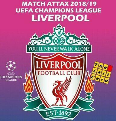 Match Attax Uefa Champions League 2018/19 Liverpool Individual Cards