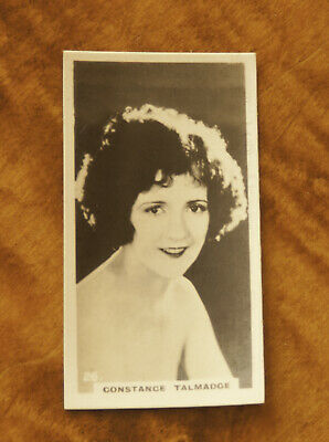 1930 Lambert & Butler Film Stars Cigarettes Card Of Constance Talmadge