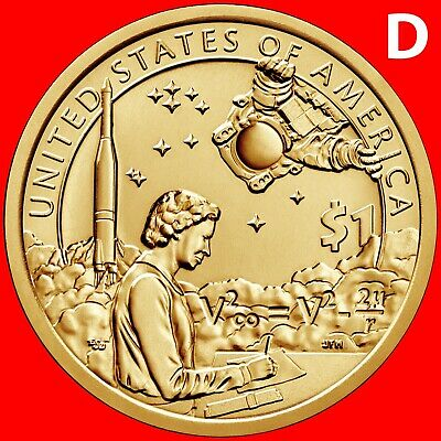 2019-D Sacagawea Native American Dollar Uncirculated Set Space Program