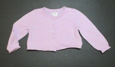 aca477ac209e NWOT BABY GIRLS THE CHILDRENS PLACE Crop Shimmer Gold Sweater 9 12 ...