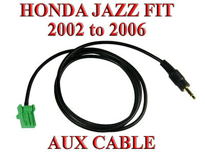 Honda Jazz Fit radio 2002 to 2006 aux cable wire male mp3 iphone ipod