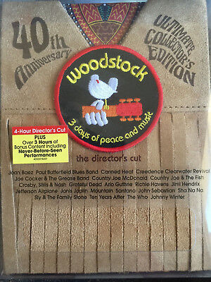 Woodstock: Three Days of Peace Music & DVD Directors Cut 40th Anniversary EXTRAS