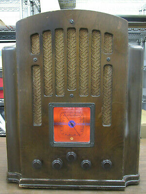 General Electric (GE) Model M-61 Tombstone Radio (1934) - TESTED & WORKING