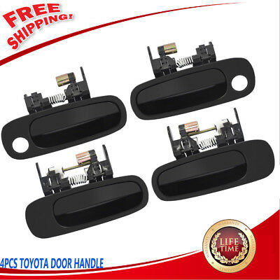Toyota Camry Outside Outer Exterior Door Handle Left & Right Front Rear Smooth