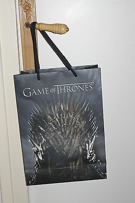 GAME OF THRONES SAC HBO COLLECTOR Trône de fer UNIQUE