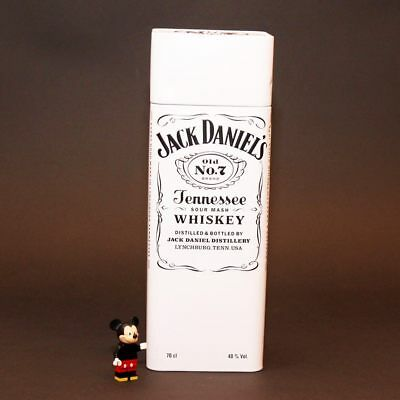 150TH YEAR JACK DANIELS TENNESSEE WHISKY METAL TIN WHITE BOX 700 ml (NO BOTTLE)
