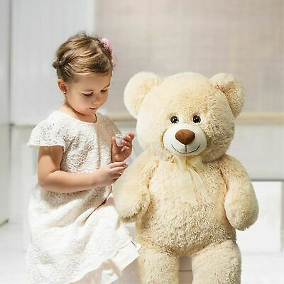 Giant Teddy Bear 36in Soft Cotton Plush Cute Big Huge Large Stuffed Animals Toy