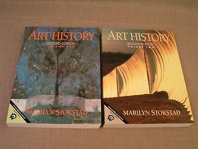 Art History by Marilyn Stokstad Second Edition Vol. 1 & 2 Softcover Books -Mint!