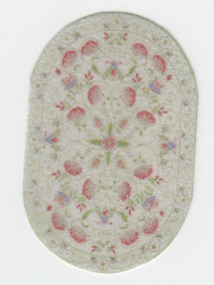 """1:48 Scale Dollhouse Area Rug 0000737 - approximately 1-5/8"""" x 2-3/8"""""""