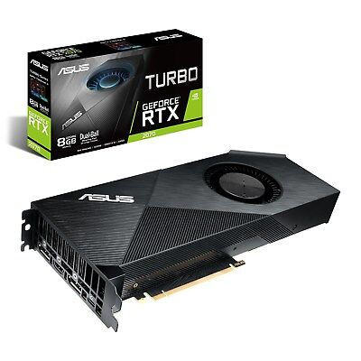 Asus Geforce Rtx 2070 8gb Turbo Boost Carte Graphique