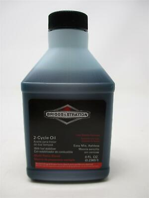 2-Cycle Oil 8-Ounce Briggs & Stratton 10010 Bottle Easy Mix Ashless 8oz