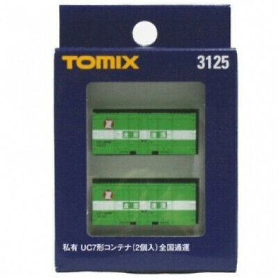 Tomix N Gauge 3125 Uc7 Container (Nippon Express Japan). Tomytec. Brand New