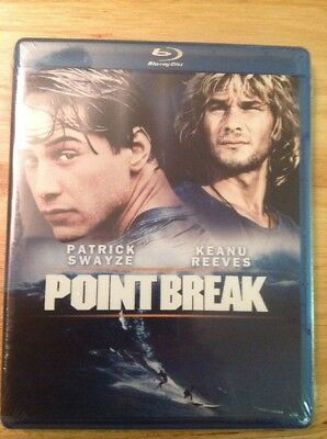 Point Break (Blu-ray Disc, 2011, Canadian French)NEW Authentic