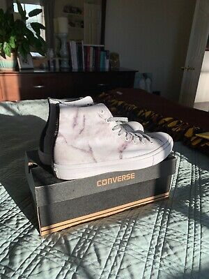 ddab5b2ec43a5e Converse Chuck Taylor All Star II 2 First String Marble Collection WHITE -  10