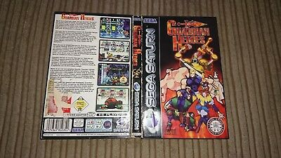 Guardian Heroes Sega Saturn Empty Box Only