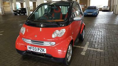 2003/03 registered  SMART PASSION COUPE 698cc AUTOMATIC/TIPTRONIC TWO OWNER CAR