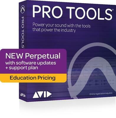 Avid Pro Tools 2018 with 1-Year of Updates + Support Plan Teachers/College Stude