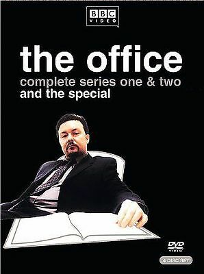 The Office Season 1 & 2 BBC (DVD, 2004, 4-Disc Set)   ****BRAND NEW****