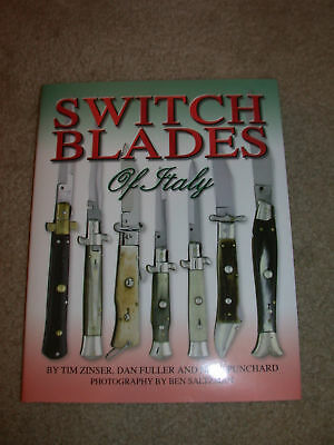 First Edition Switchblades of Italy Book by Zinser, Fuller, Punchard Hardcover