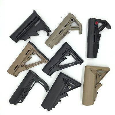 Tactical Gel Ball Blaster Buttstock Water Bullet Gun Modified Accessories