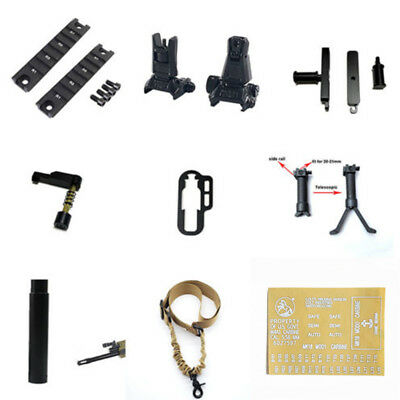 JinMing SCAR V2 Upgrade Accessories for Gel Ball Blaster Toy Appearance Decor