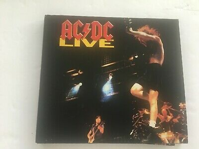 2003 AC/DC Live Music CD has greatest hits Back to Black TNT All night long