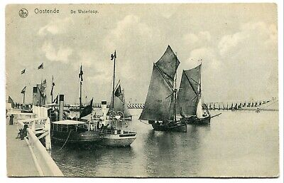 CPA - Carte Postale - Belgique - Ostende - De Waterloop - 1919 ( DD7741)