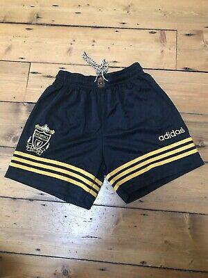 Liverpool 1995 96 Third Away Shorts Size 32 Adults Vintage Retro Good Condition
