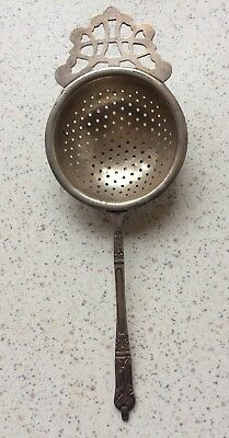 Collectable Tea Strainer Sheffield England