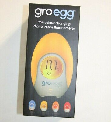 Groegg Baby Room Temperature Monitor And Soft Lamp GRO EGG