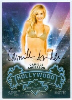 Benchwarmer 2014 Hollywood Show - 4 X Auto Cards