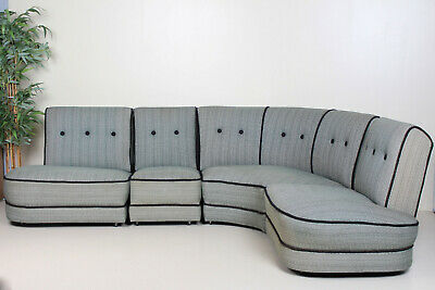 Vintage Danish Corner Sofa Modular L Shape Sofa Large 5 6 Seater Retro