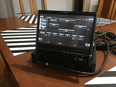 Kenwood KVT-627 multimedia DVD player