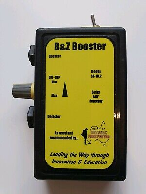 B&Z Booster. Suit Sd/Gp/Gpx/Sdc Minelab Metal Detectors. Great used condition