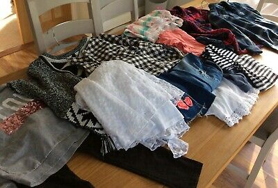 Big Bundle of girls clothing from NEXT, Joules,  aged 11 years.  Fab condition.