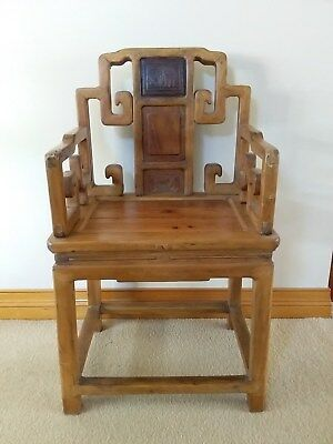 2 Antique Chinese Chairs.
