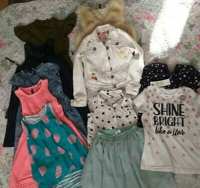 Girls clothes bundle 9-10 years. H&M, next. Used 11 items.