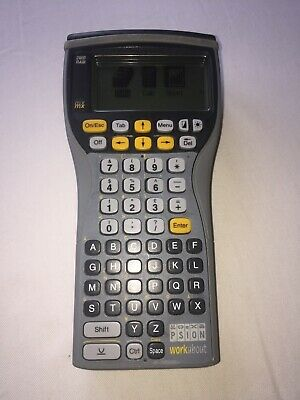 Psion Workabout 2MX AlphaNumeric keyboard RS232/TTL
