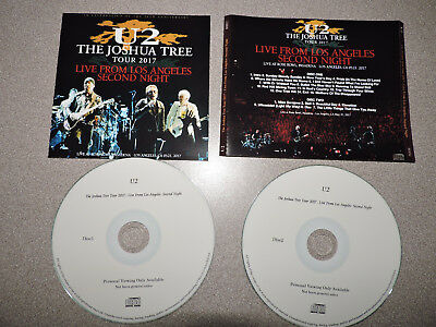 U2 Live From Los Angeles Second Night 21/05/2017 2Cd Live
