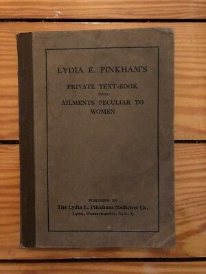 Lydia Pinkham's Private Text-Book Upon Ailments Peculiar to Women Undated VG