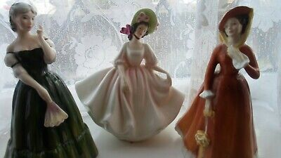 Royal Doulton  Figurines set of 3 in excellent condition