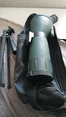 Spotting Scope With Tirpod And Bag