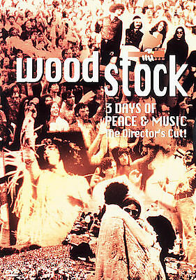 Woodstock: Three Days of Peace  Music (DVD, 1997) Director's Cut