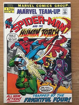 Marvel Team-Up  #2    -  Marvel Comics   -  1972    -   Usa Original