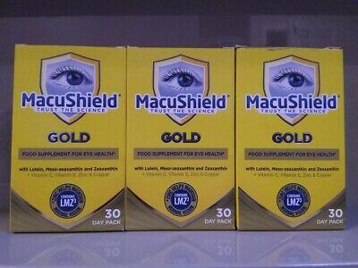 MacuShield GOLD 3x 30 Day Pack - 270 tablets